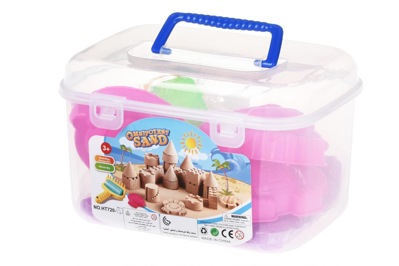 Волшебный песок Same Toy Omnipotent Sand Подводный мир 500 г 9 шт. Сиреневый (HT720-3Ut)