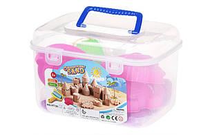 Чарівний пісок Same Toy Omnipotent Sand Підводний світ 500 г 9 шт. Бузковий (HT720-3Ut), фото 2