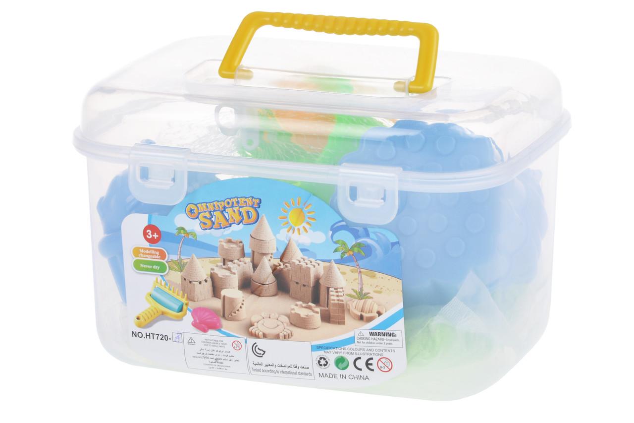 Чарівний пісок Same Toy Omnipotent Sand Кондитер 500 г 9 шт. Зелений (HT720-8Ut)