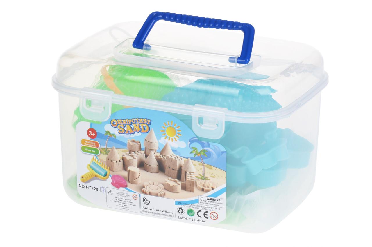 Чарівний пісок Same Toy Omnipotent Sand Морський світ 500 г 9 шт. Зелений (HT720-4Ut)