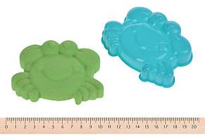 Волшебный песок Same Toy Omnipotent Sand Морской мир 500 г 9 шт. Зеленый (HT720-4Ut), фото 2