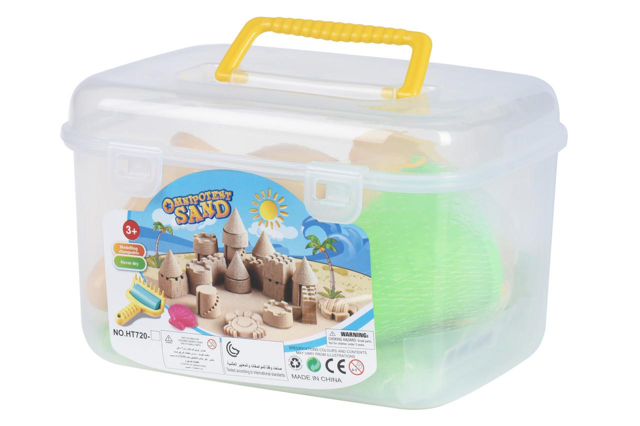 Волшебный песок Same Toy Omnipotent Sand Мороженое 500 г 9 шт. Зеленый (HT720-10Ut)