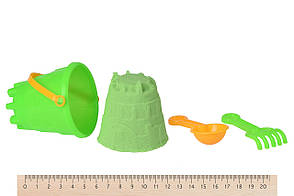 Волшебный песок Same Toy Omnipotent Sand Мороженое 500 г 9 шт. Зеленый (HT720-10Ut), фото 2