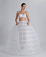 Подъюбник на 8 колец , диаметр 430 см. ,Подъюбник под платье, подъюбник с кольцами, кринолин