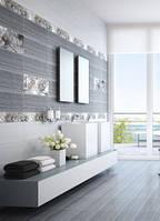 MAGIA (Магия) серая плитка керамическая Intercerama для стен и пола, для ванной кухни, коридора