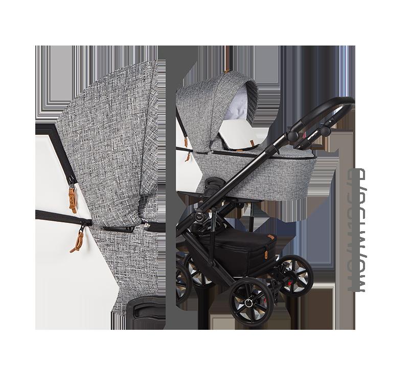 Дитяча універсальна коляска 2 в 1 Baby Merc Mosca MO/196B
