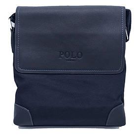 Сумка через плечо Polo Videng D-01 Quality Replica (Blue) | Городская сумка месенжер