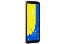 Смартфон Samsung Galaxy J6 (J600F) 2/32GB Gold Stock B, фото 2