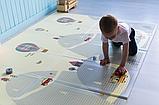 """Дитячий термо килимок складний ігровий двосторонній """"Повітряна куля - Тварини"""" 200х150 см +чохол, фото 3"""
