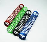 Пружина для силиконовых шлангов кальяна цветная, фото 2