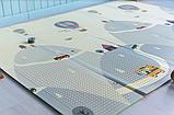"""Дитячий термо килимок складний ігровий двосторонній """"Повітряна куля - Тварини"""" 200х150 см +чохол, фото 5"""