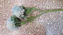 Цветок чеснока двойной. Голубой