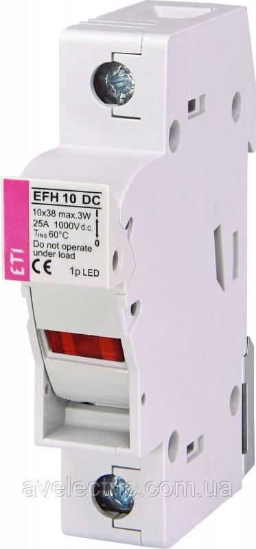 Держатель EFH 14 1P-LED 50A 1000V DC