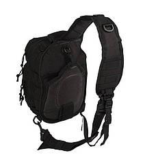 Mil-Tec One Strap Assault Pack Small Black Сумка плечева 10L