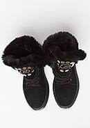 Ботинки женские замшевые Wright  UTENA 40 черные, фото 2