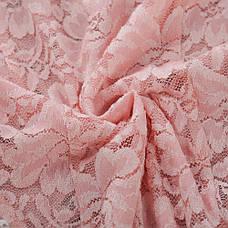 Боди из мягкого кружева розовый - 328-14, фото 2