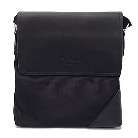 Сумка через плечо Polo Videng D-09 Quality Replica (Black) | Городская сумка месенжер