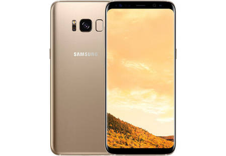 Смартфон Samsung Galaxy S8 Plus 4/64GB G955 Gold Stock A-, фото 2