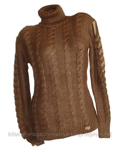 Женский свитер тёплый