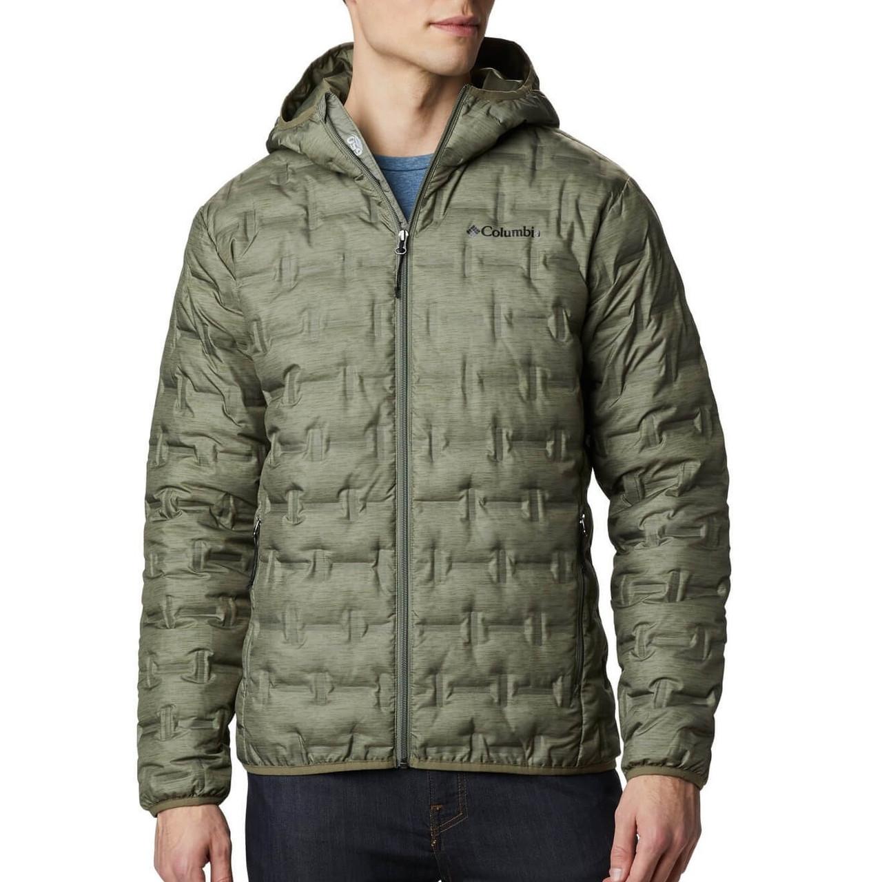 Мужская пуховая куртка Columbia Delta Ridge Down Hooded Jacket