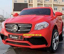 Детский электромобиль на аккамуляторе с пультом РУ Mercedes Мерседес AMG FL1558 красный