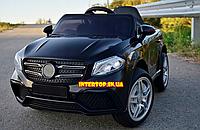 Детский электромобиль на аккамуляторе с пультом РУ Mercedes Мерседес AMG FL1558 черный