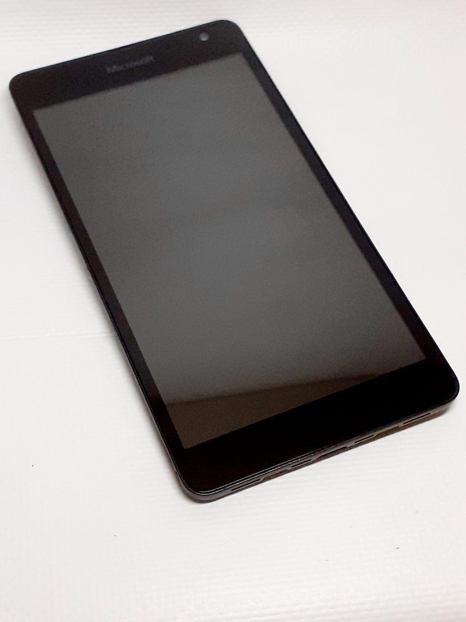 Модуль сенсор и дисплей черный Nokia / Microsoft  Lumia 535 Dual SIM RM-1090  ориинал б.у.