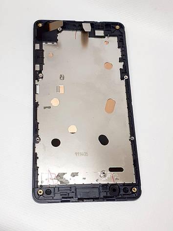 Модуль сенсор и дисплей черный Nokia / Microsoft  Lumia 535 Dual SIM RM-1090  ориинал б.у., фото 2