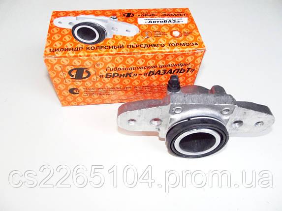 Тормозной передний левый цилиндр ВАЗ 2108-2115 Базальт, фото 2