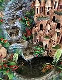 Комнатный Угловой Фонтан-Водопад Ручной Работы, фото 3