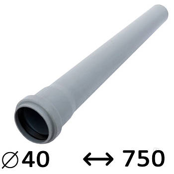 Труба 40 Ostendorf внутренняя 750