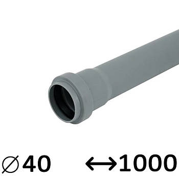 Труба 40 Ostendorf внутренняя 1000