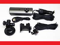 Car DVR R300 Видеорегистратор с двумя камерами