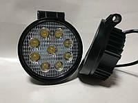 Фары LED WL-201 ближний свет 27W/9-32V/9LEDх3W/    Lm EP9 FL SW v2