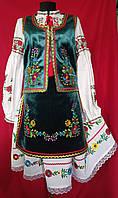 Національний український костюм оксамит