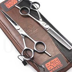 Набор профессиональных парикмахерских ножниц KASHO 5.5' (Japan)