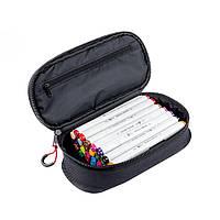 Набор скетч-маркеров для рисования 18 шт. в фирменном пенале Santi sketchmarker