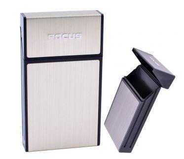 Портсигар на 10 сигарет FOCUS №HL-151 Gold