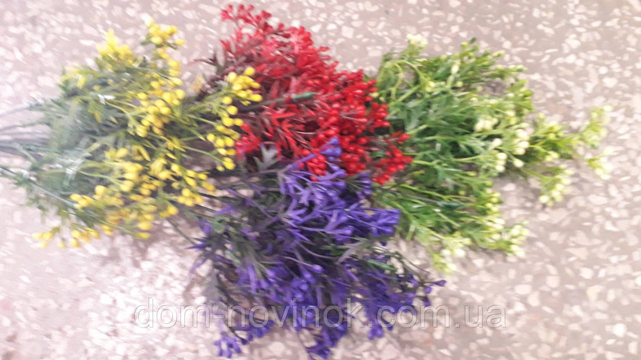 Букет мимозы 4 расцветки .