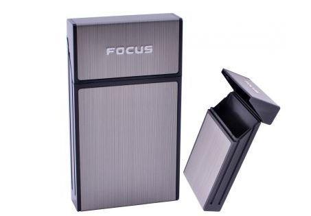 Портсигар на 10 сигарет FOCUS №HL-151 Black