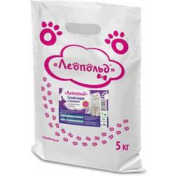 Сухий корм Леопольд  в гранулах для дорослих котів з кроликом 5кг