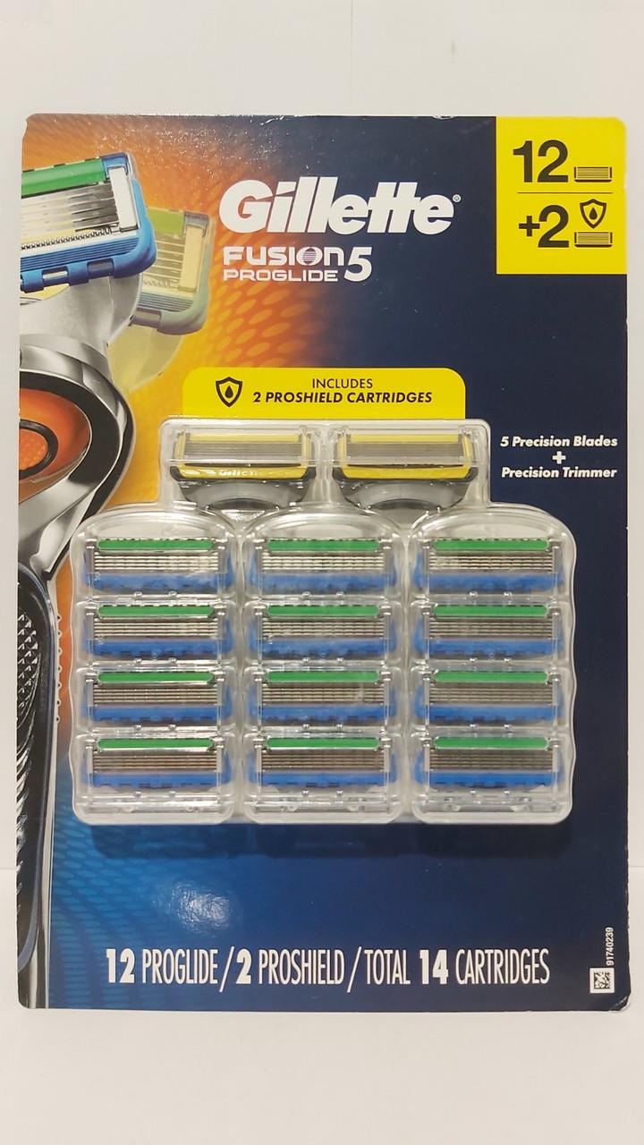 Кассеты для бритья Gillette Fusion Proglide 5, 14шт.