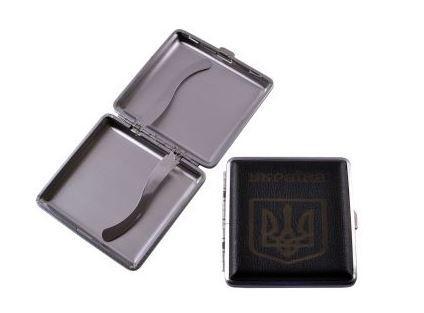 Портсигар на 20 сигарет Герб України HL-156-1