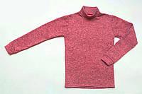 Водолазка  детская утепленная р.104,110,116,122 SmileTime Melange, бордо, фото 1