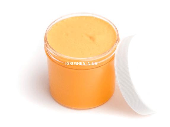 Флаффи слайм оранжевый, фото 2