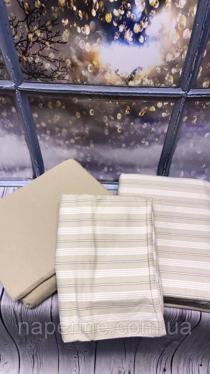 Постільна білизна з фланелі байка полуторний розмір Cotton Collection краща ціна