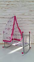Кроватка для кукол FL 991 с балдахином