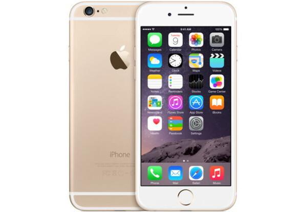 Смартфон Apple iPhone 6 16GB Gold Stock А-