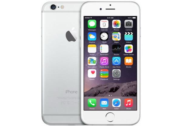 Смартфон Apple iPhone 6 16GB Silver Stock B