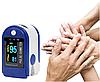 Измеритель пульса, Пульсоксиметр AD-807 на палец, Пульсометр компактный, Пульсоксиметр беспроводной, фото 3
